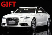 Car Model New Audi A6L 1:18 (White) + SMALL GIFT!!!!!!!!!!!