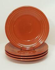 Fiestaware Paprika Luncheon Plate Lot of 4 Fiesta Burnt Orange 9 inch plates & Luncheon Plate Orange Contemporary Fiesta China u0026 Dinnerware | eBay