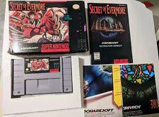 Secret of Evermore - SNES NTSC - CIB