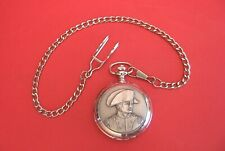 Napoleon Design Pocket Watch Fathers Day Napoleonic Enthusiast Gift