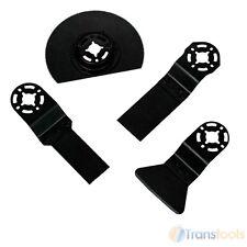 Vitrex occilating Multi strumento accessorio Pack LEGNO LAMA TAGLIERINA RASCHIETTO PER 4 PC