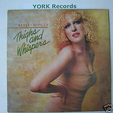 BETTE MIDLER - Thighs & Whispers - Ex Con LP Record