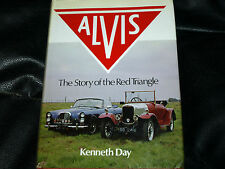 ALVIS STORY OF THE RED TRIANGLE 1981 KENNETH DAY SILVER CREST FIREFLY MULLINER