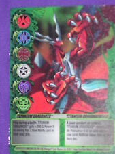 BAKUGAN Mechtanium Surge TITANIUM DRAGONOID Ability Card 48/48g