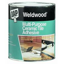 Gallon Ceramic Tile Adhesive DAP 25192 quick grab for ceramic & mosiac tile 4PK