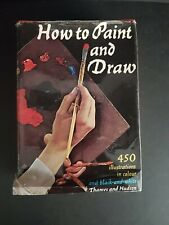 HOW TO PAINT AND DRAW by Bodo W. Jaxtheimer (Hardback, 1962) Art, Vintage