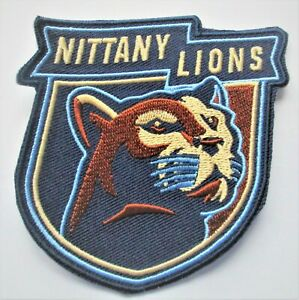 """LOT OF (1) PENN STATE NITTANY LIONS PATCH PATCHES SIZE (3  1/4"""" x 3 1/4"""") # 59A"""