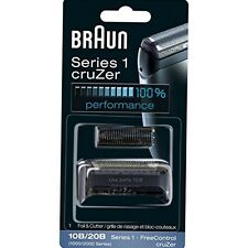 Braun 10B/20B Replacement Foil and Cutter Blades 190 190s-1, 190s, 1775