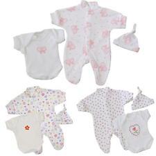 BabyPrem Bebé Prematuro Conjunto 3P Pijama Body Sombrero Ropa Algodón 32 - 50cm