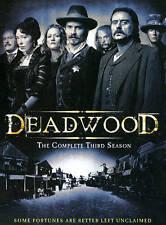DEADWOOD The COMPLETE THIRD SEASON 12 Episodes+ Bonus Features 6-Disc Set SEALED