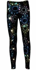 Women's Astrology Horoscope Star Sign Zodiac Symbol Alternative Printed Leggings