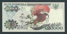 F.C. INDONESIA , 20000 RUPIAS 1995/96 , EBC ( XF ) , FLOJO DE PICOS , P.135b .