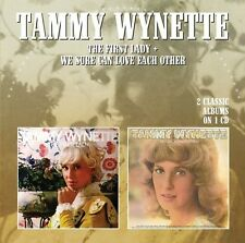 First Lady/We Sure Can Love Each Other - Tammy Wynette (2015, CD NEUF)