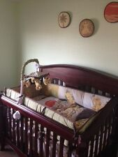 Baby Lion King themed crib and chest set