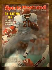 BILLY SIMS - SPORTS ILLUSTRATED - OCTOBER 3, 1977