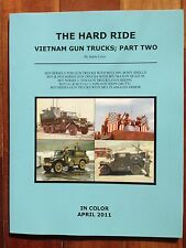 The Hard Ride Vietnam Gun Truck Part 2  100's of COLOR  Photos FREE USA SHIPPING