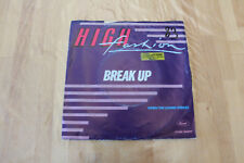 high fashion - break up   45t
