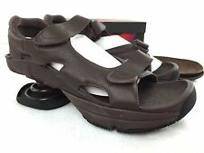 ZCOIL Sidewinder Sport Sandal NEW Mens Size 14 WIDE Pain Relief Shoe BROWN