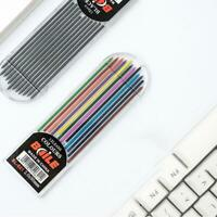 New 2.0mm 2B Colored Pencil Lead 2mm Mechanical-Clutch Holder 12`Color Refi S1K5