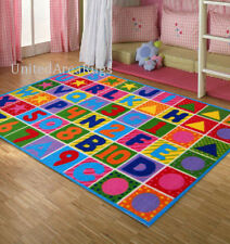 3x5 ABC RUG Kids Educational Alphabet & Numbers Kid Play School Time NEW