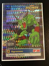 Ogremon Digimon Card Animated Series II Super Rare