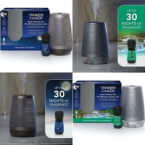 NEW Yankee Candle Sleep Electric Diffuser (UK Plug) Starter Kit inc Oil