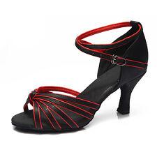 Women Girl lady s Ballroom Tango Latin Dance Dancing Shoes heeled Salsa 11  Color b834ba2f9