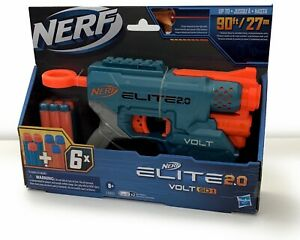 Nerf Elite 2.0 Volt SD-1 Blaster 6 Official Nerf Gun & Darts Light Beam
