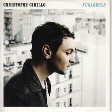 CD ALBUM PROMO CHRISTOPHE CIRILLO / FUNAMBULE