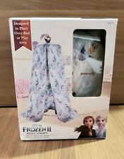 Disney Frozen 2 Bed Canopy Olaf Brand New Color Blue 100% Polyester