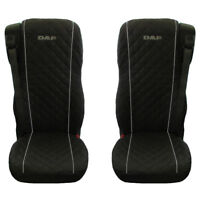 DAF 106 XF TRUCK SEAT COVERS WITH GREY PIPING