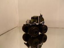 1990's Soma Mighty Wheels Monster Army Satellite Truck - Mint Loose 1/55 Scale