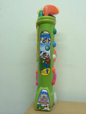 JUNIOR PLASTIC GOLF SET AND TROLLEY BAG