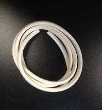 Leg shield trim rubber white for Vespa PX & LML Star