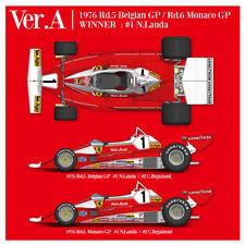 Model Factory Hiro K704 1:12 312T2 1976 Ver.A #1 N.Lauda #2 C.Regazzoni Kit