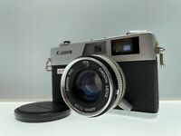 **Exc+++++** Canon Canonet QL17 GIII Film Camera w/ 40mm F1.7 Lens From Japan