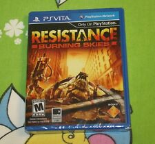 Resistance: Burning Skies - PlayStation Vita  BRAND NEW SEALED IN THE BOX