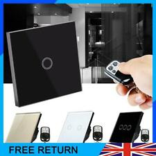 1/2/3Gang Smart Light Switch Panel Remote Touch Ctrl For Alexa Google Home