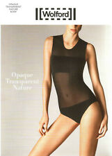 WOLFORD Body OPAQUE TRANSPARENT NATURE (76041), L, white, NEU&OVP 175,00 Euro