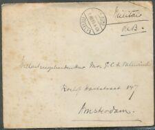 PORTVRIJ MIL.COUVERT, L.B. DEN BURG (TEXEL) 1, 6.VIII.15 - AMSTERDAM   Aa721