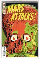 Mars Attack Issue #1 Dynamite Comics Subscription Cover E (1st Print 2018)
