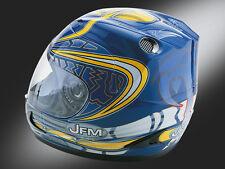 CASCO integrale JFM140  BABY DRIVER Graphic Blue taglia YS  140GBS