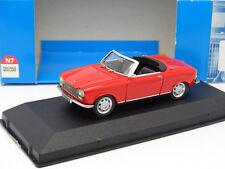 Provence Moulage N7 1/43 - Peugeot 204 Cabriolet Rouge