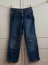 JAKO-O Hose Jeans Gr. 146 blau Denim Kniepatches