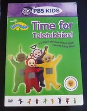 Teletubbies - Time for Teletubbies (DVD, 2005, 3-Disc Set) Factory Sealed!