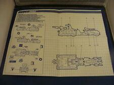 Marauder  Vintage  Blueprints/Instructions GI JOE
