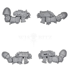 Chaos Space Marines - Khorne Berzerkers Bolt Pistol x 4  - WH40K Bitz