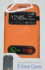 Samsung Galaxy S III mini S View phone cover Orange