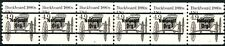 Buckboard 1880s Precancel MNH PNC6 Plate # 2 With Cancel Line Gap Scott's 2124A