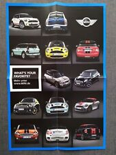 MINI Lifestyle Car Farben Colour Poster Prospekt Brochure Q